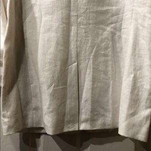 Michael Kors Jackets & Coats - Michael Kors White Linen Blazer